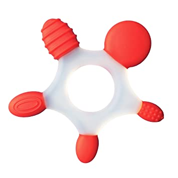 Amazon.com   SILICONE TEETHING RING - 2 in Case  c02a4a048a