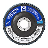 Mercer Industries 272036 Zirconia Flap Disc, Type