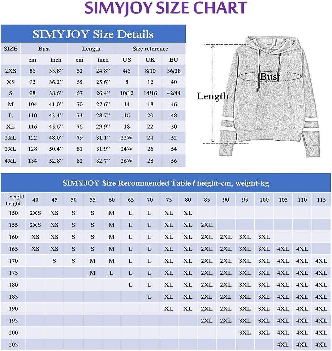 SIMYJOY Womens Kpop Blackpink Hoodie Signature Printed Sweatshirt As If Its Your Last Jumpers for Blink