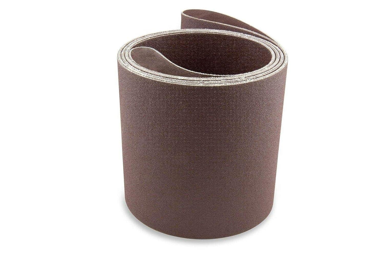 6X132 인치 180 알루미늄 산화물 다목적용 모래로 덮는 벨트 2 팩-샌더 벨트-샌더 툴 모래는 종이-알루미늄 산화물 모래로 덮는 벨트-모래로 덮는 벨트