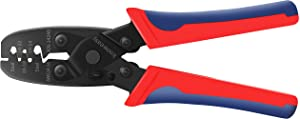 Wire Crimping Tool,Knoweasy Open Barrel Wire Crimper and Molex Crimper for Delphi Metri-Pack 150,280 and Weather-Pack Terminals 24-14 AWG