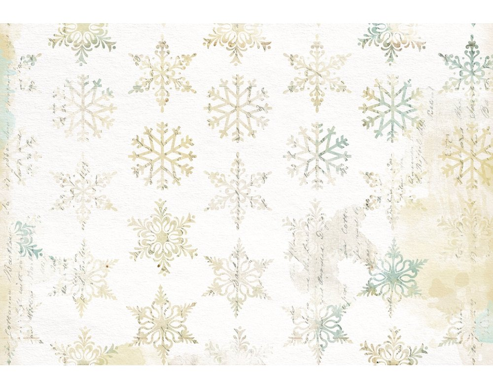 3 Decopatch Paper Sheets - Christmas Snowflakes | Decoupage Crafts Crafty Capers