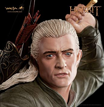 The Hobbit Desolation Of Smaug Statue 1 6 Legolas Greenleaf 30 Cm