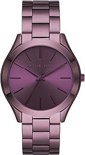 Michael Kors Damen Analog Quarz Uhr mit Edelstahl Armband
