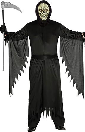 Disfraz de la Muerte - Hombre, L, Halloween: Amazon.es: Ropa y ...