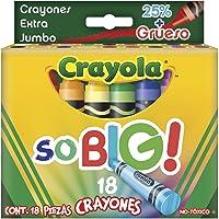 Crayola 5219180002 18 Crayones Extra Jumbo