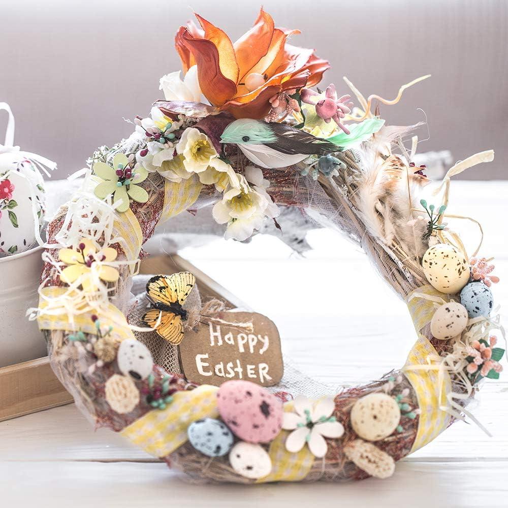 in rattan 8 e 12 cm Sntieecr Ghirlande di vite naturali in 2 misure per lavori fai da te decorazione per feste