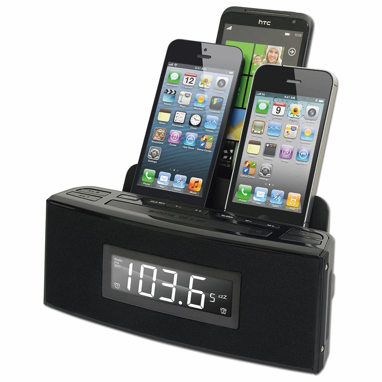 Amazon.com: Dok 3-Port Cargador de teléfono inteligente con ...