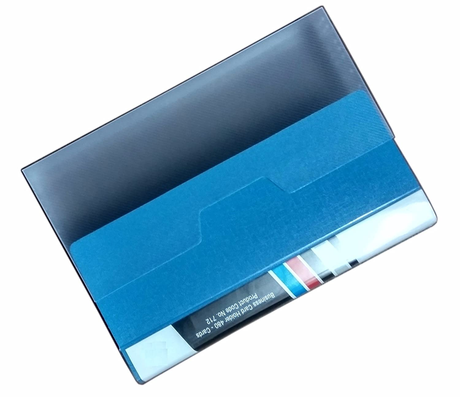 A S P Visiting Card Holder (480 Folder) - (Blue): Amazon.in: Office ...