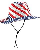 Patriotic Flag Hat (stars & stripes design) Party Accessory  (1 count)