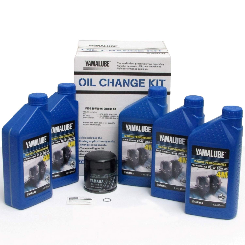 Yamalube-F150 Outboard Oil Change Kit (20W40 Fc Qty5)