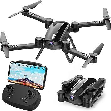 Opinión sobre SIMREX X900 Drone RC Quadricottero Altitudine Tenere Senza Testa RTF 3D 360 gradi FPV Video WiFi 1080P Videocamera HD 6 assi 4CH 2.4Ghz Altezza Tenere facile Vola costante per l'apprendimento Negro