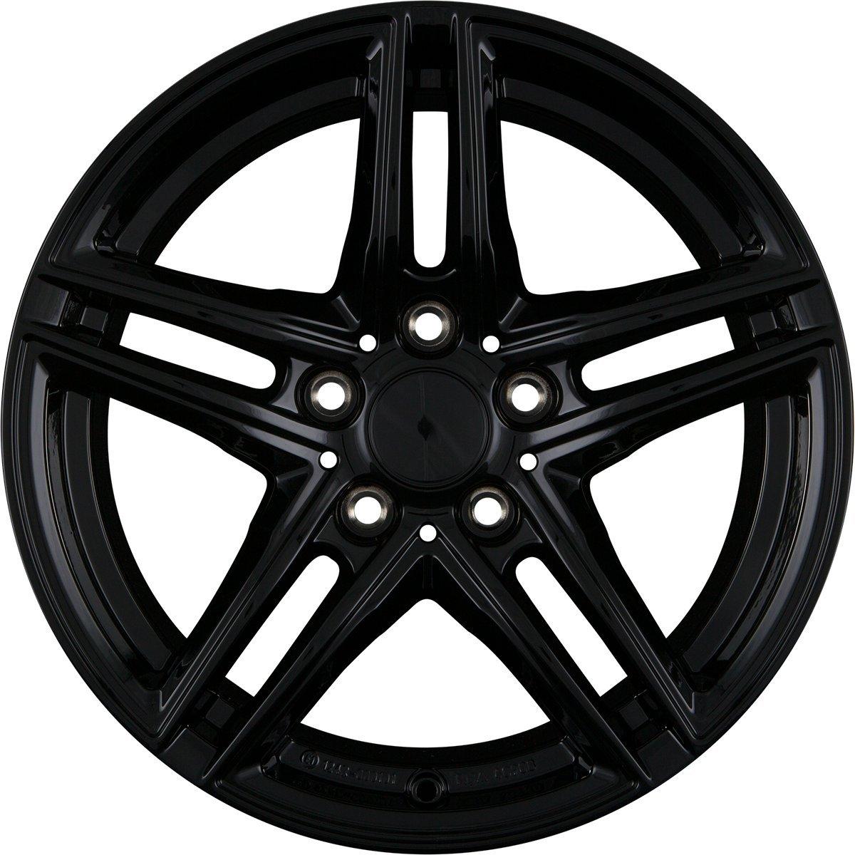 Borbet XR black glossy 7, 5x17 ET35 5.00x120 Hub Bore 72.50 mm - Alu felgen