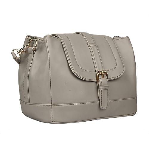 Roseberries Women Sling Bag Grey Color  Amazon.in  Shoes   Handbags bb39ecf50e7c8
