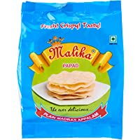 Malika Madras Plain Papad, 120g