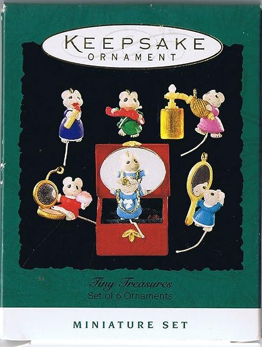 1995 Hallmark Keepsake Miniature Ornament Rocking Horse Series #8
