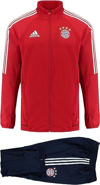 Haz todo con mi poder Situación barricada  adidas Performance FC Bayern München Men's Tracksuit, Men, Trainingsanzug,  Fcbtru/White, M: Amazon.co.uk: Clothing