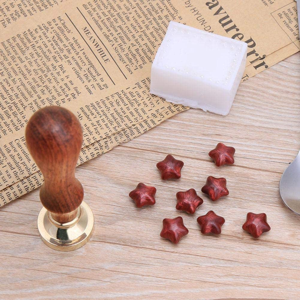 Ancient Mythology Pattern Sealing Wax Stamps Wood Handle Wax Seal Stamp Decor