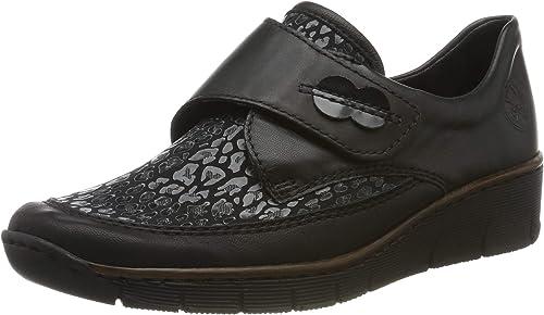 Rieker Damen 537c0 00 Slipper: : Schuhe & Handtaschen 01Bul