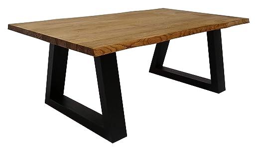 Lumarc L104, Mesa de centro en madera de roble macizo natural ...