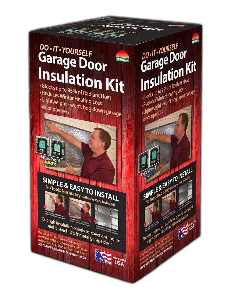 Reach Barrier 3009 Garage Door Insulation Kit by Reach Barrier