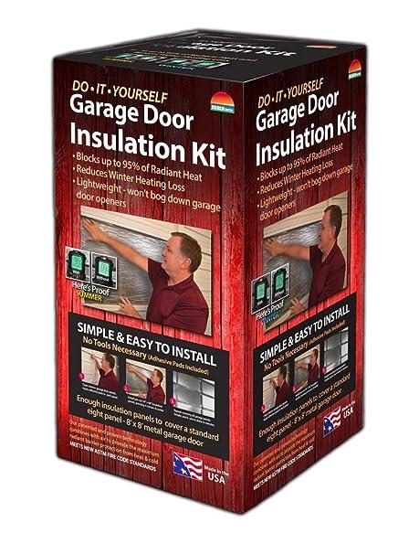 Reach Barrier 3009 Garage Door Insulation Kit Amazon Diy Tools