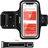 Mpow Running Armband for iPhone X/ 8/ 7, with Extension Strap, Card Pocket, Earphone Holder