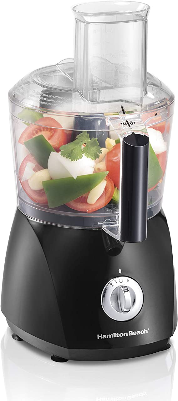 Hamilton Beach ChefPrep 10-Cup Food Processor & Vegetable Chopper with 6 Functions to Chop