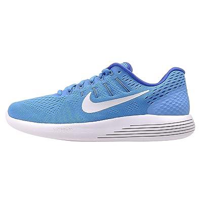 low cost 5f9c6 0b095 Amazon.com   Nike Women s Lunarglide 8 Running Shoes (5 B(M) US, Blue Glow  White RCR Blue Hypr Turq)   Road Running