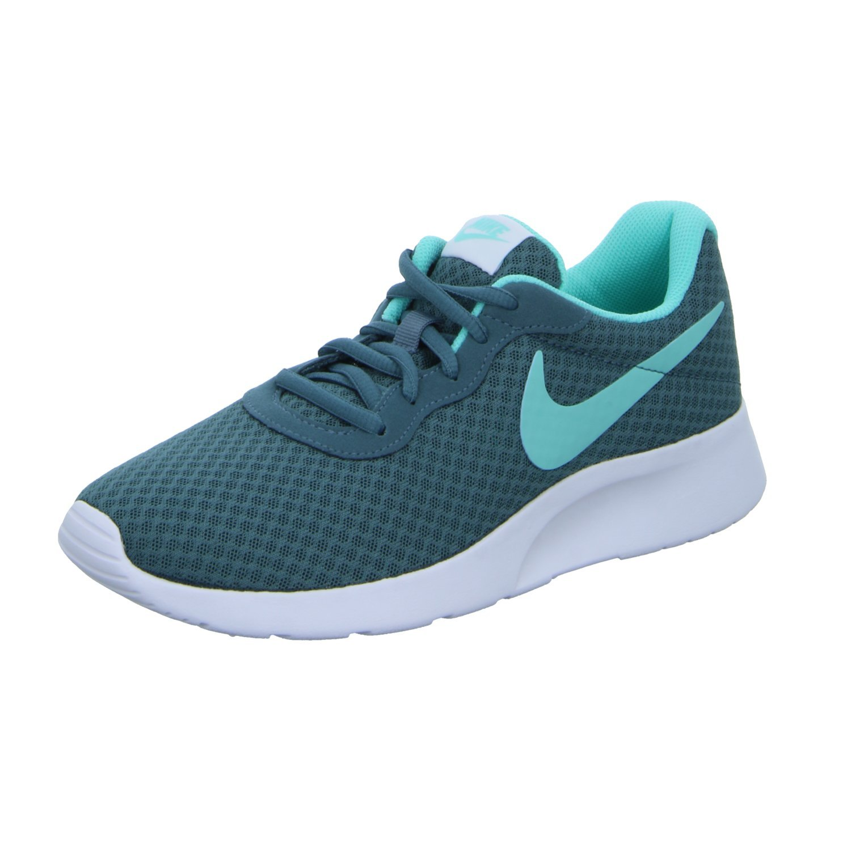 NIKE Women's Tanjun Running Shoes B01M9I9312 10 B(M) US Iced Jade Aurora Green White