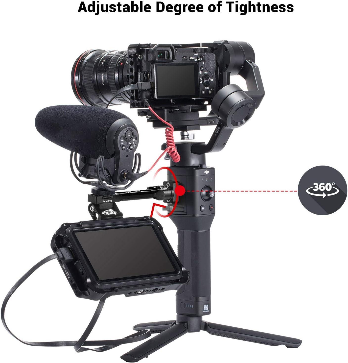 SMALLRIG Adjustable Camera Monitor Mount for DJI Ronin-S/Ronin-SC/Zhiyun Crane 3/Weebill Lab - BSE2386 : Camera & Photo