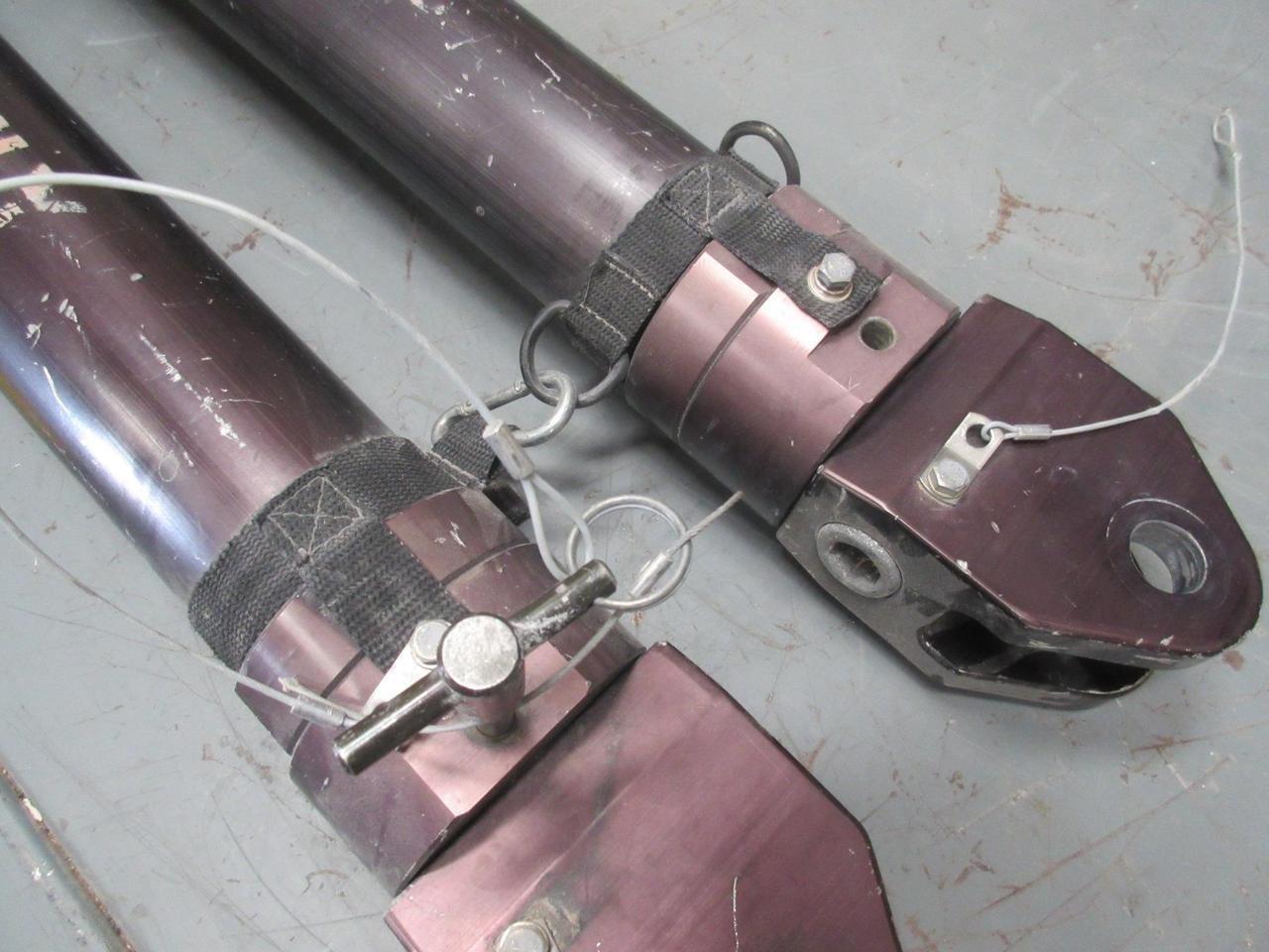Ibis Tek 1sc69 2512 100 0 Tow Bar 40000 Lbs Cap Light Wiring Harness Extends 22 T47981 Industrial Scientific