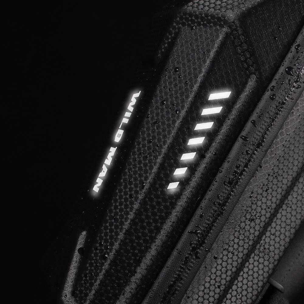 Konesky Scooter /électrique Sac de Guidon Imperm/éable EVA Coquille Dure /Équilibre Sac Tube Avant Grande Capacit/é Compatible avec Xiaomi M365 ES1 ES2 ES3 ES4