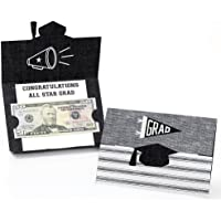 Big Dot of Happiness All Star Grad - Graduation Party Money Holder Cards - Set of 8