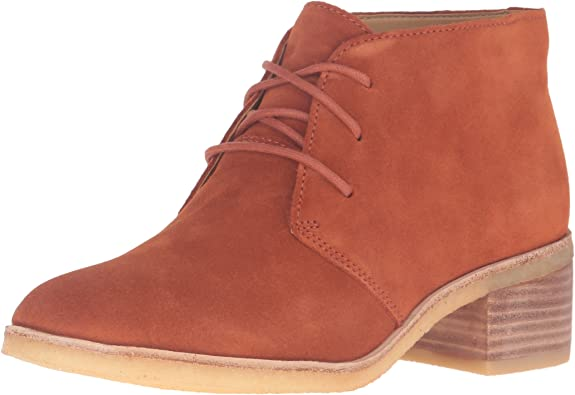 NEW LADIES CLARKS ORIGINALS PHENIA CARNABY SUEDE ANKLE BOOTS SIZE 4,5 /& 5.5