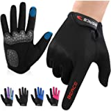 BEACE Cycling Gloves Bike Gloves Biking Gloves for Women(Colorful Night Glow) with Touch Screen-Workout Gloves Full…