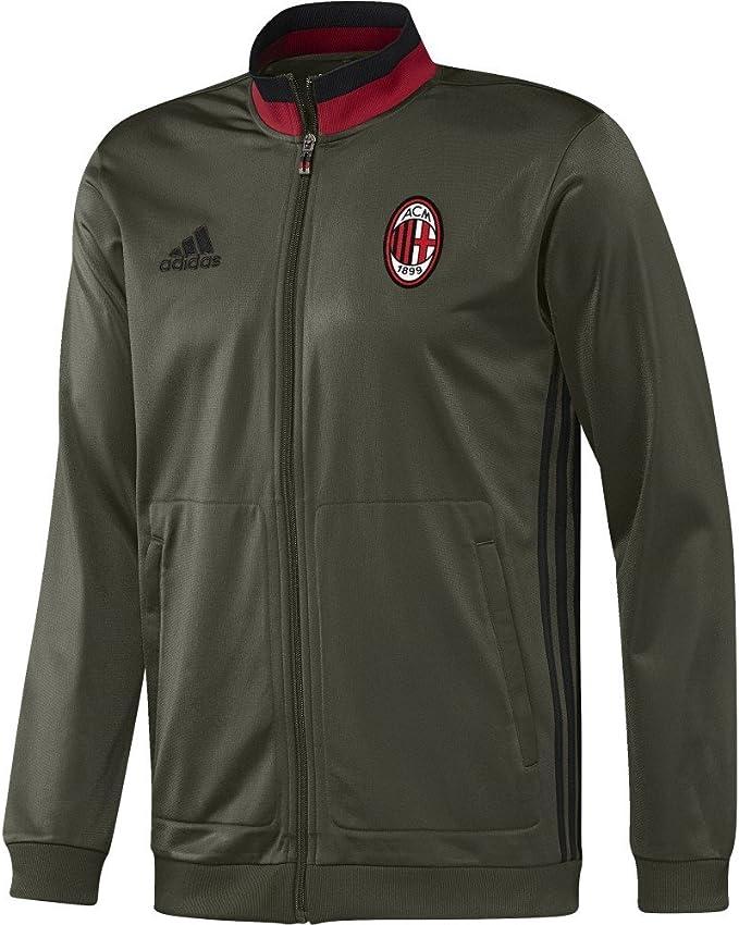 adidas AC Milan PES Chándal, Hombre, Verde/Negro/Rojo, XS: Amazon ...