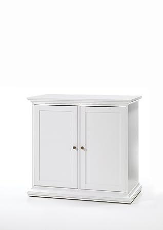 Amazon Tvilum 7985249 Sonoma Double Door Cabinet With 2 Shelves