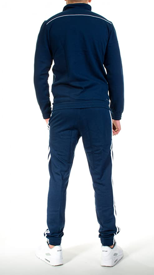 adidas - Chándal - para hombre azul azul marino: Amazon.es: Ropa y ...