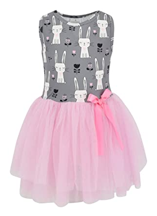 6270984cc1d9 Amazon.com: Unique Baby Girls Easter Bunny Tutu Dress: Clothing