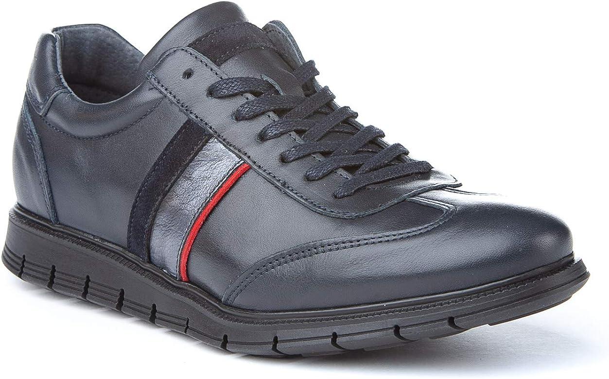 Zapatillas Deportivas para Hombre. Fabricadas en napa de Piel ...