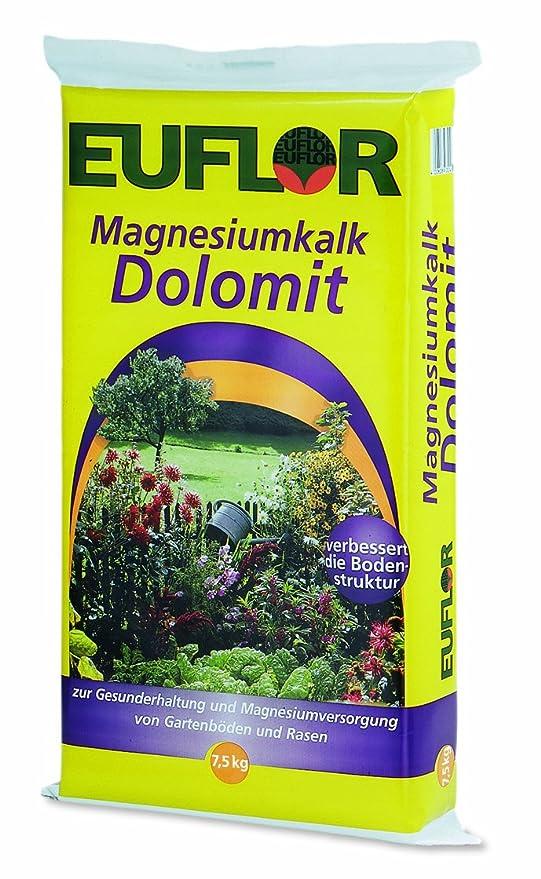 euflor Magnesio cal dolimita 7,5 kg – Carbonato de calcio Magnesio 95 (70