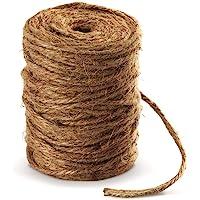 100M Jardín Cordón 4mm Cuerda de Yute absofine