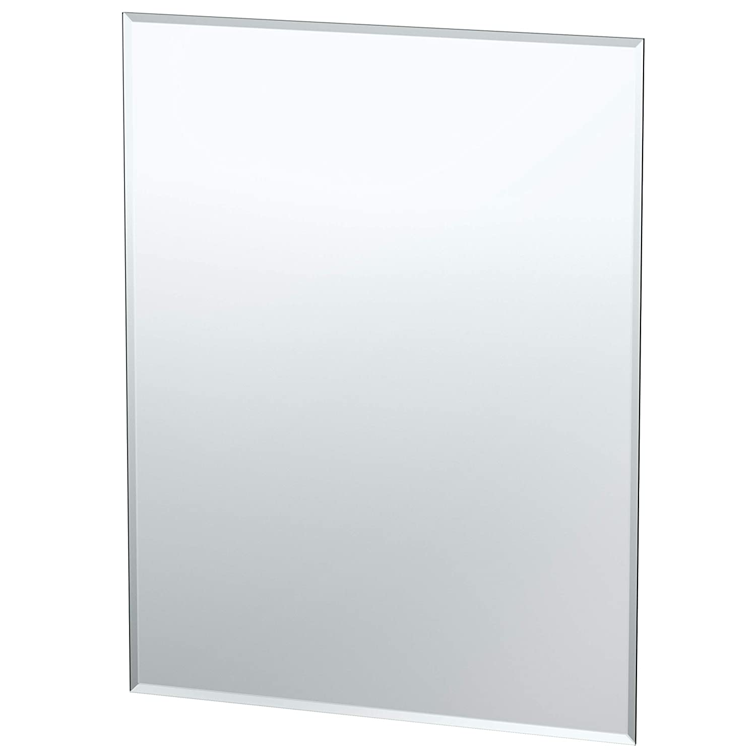 Gatco 1803 Flush Mount Rectangle Frameless Regular Mirror, 24-inch