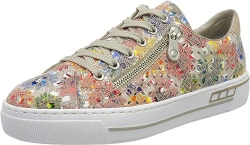 Rieker Damen FrühjahrSommer L8837 Sneaker: 30u2d
