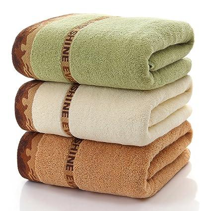Toallas de baño de algodón (28 x 56 cm) Hotel de lujo y Spa