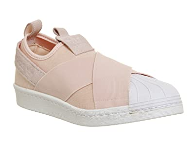 adidas Superstar Slip On W chaussures, rose blanc, 40 23 EU
