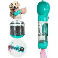 N / A Botella de agua multifuncional y portátil para pasear, botella de agua de viaje para perro, botella de agua…