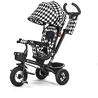 Enfant Force AVEO Black and White Tricycle avec accessoires durchstich Roues en caoutchouc antidérapante Nouveau Modèle ECE. r44.04