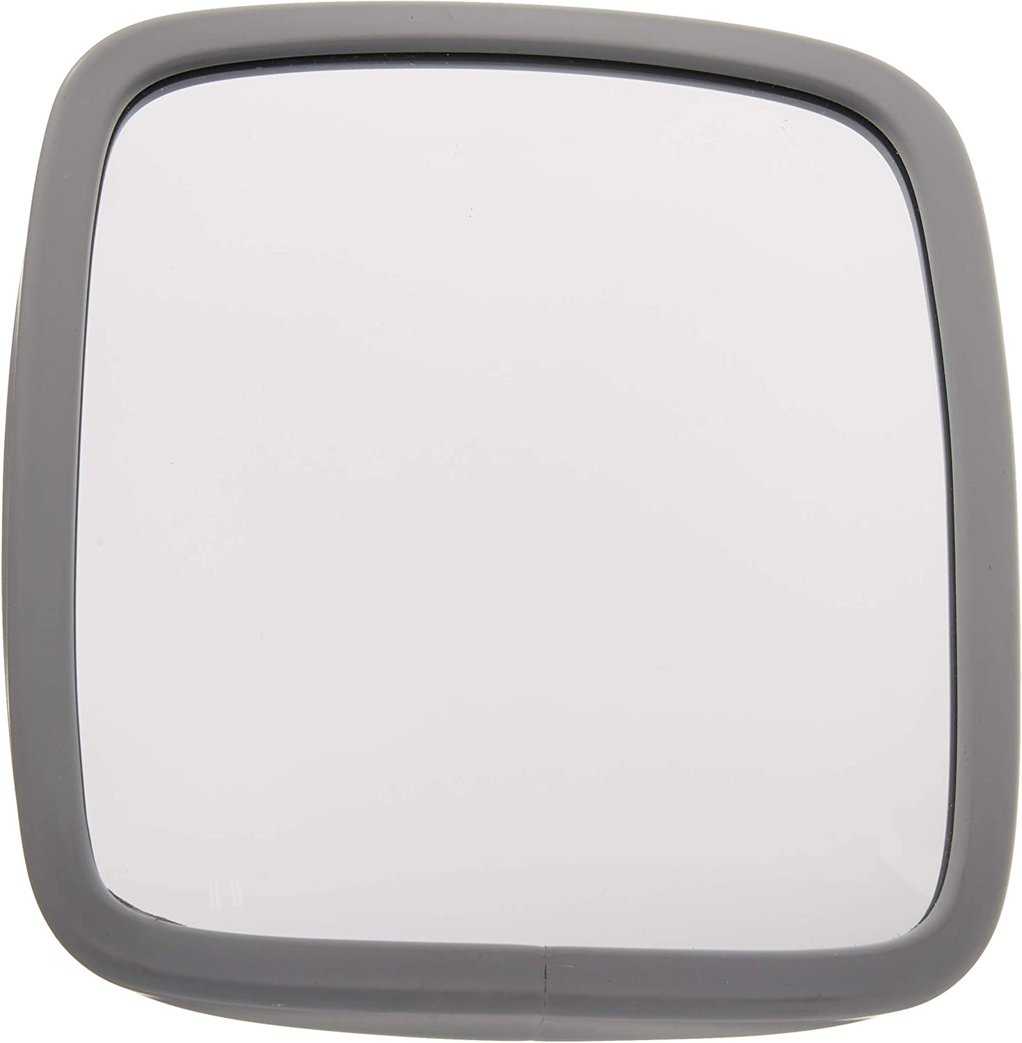 Velvac 704091 6.5x10 Side Mount Mirror Head Stainless Steel with Flat Glass